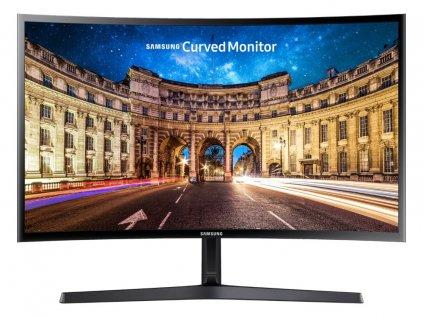 "Monitor Samsung C24F396 23.5"" FHD prohnutý, 1920x1080, VA, 250cd/m2, 4ms, HDMI, VGA, 3,5mm audio"