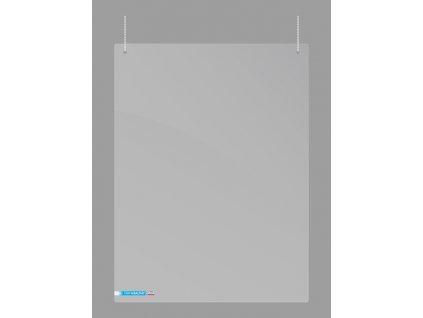 Ochranný panel 2x3 1000 x 650 mm, pro instalaci ze stropu