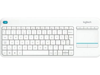 Klávesnice Logitech Wireless Touch Keyboard K400 Plus CZ 920-007152