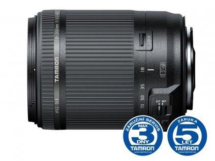 Objektiv Tamron AF 18-200mm F/3.5-6.3 Di II VC pro Canon, servisovaný kus, 100% funkční