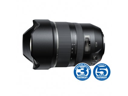 Objektiv Tamron SP 15-30mm F/2.8 Di VC USD pro Nikon, rozbaleno