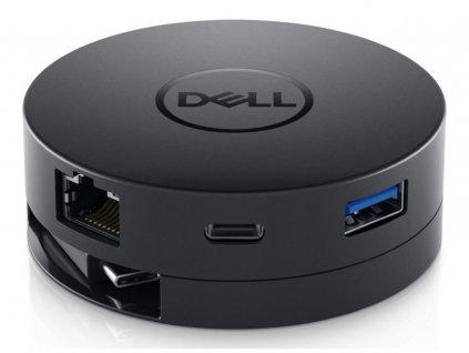 Dokovací stanice Dell DA300 replikátor portů, připojení přes USB typ C, HDMI, DisplayPort, VGA, RJ-45, USB 3.0, USB-C,