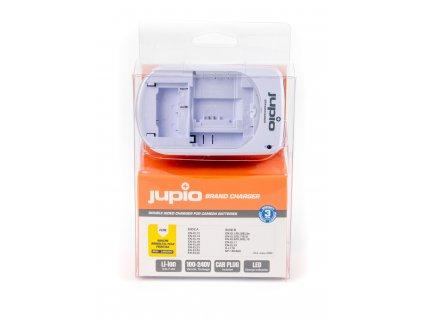 Nabíječka Jupio Brand Charger - univerzální nabíječka pro vybrané baterie Nikon