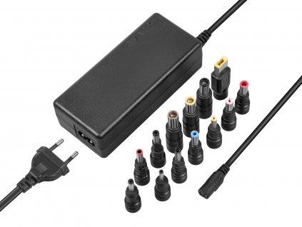 Adaptér Avacom QuickTIP 65W univerzální pro notebooky + 13 konektorů