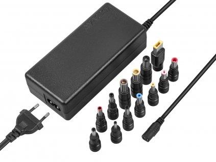 Adaptér Avacom QuickTIP 90W univerzální pro notebooky + 13 konektorů