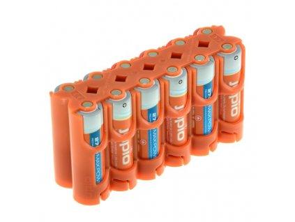 Držák Jupio pro 12ks AA baterií (neobsahuje baterie)
