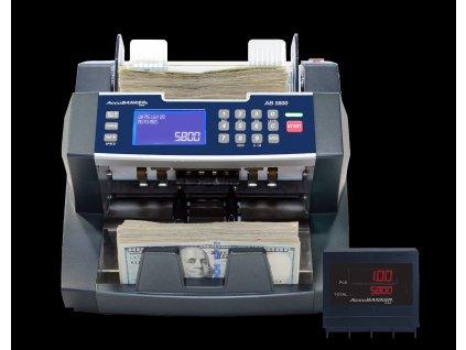 Počítačka AccuBanker AB 5800 bankovek, stolní