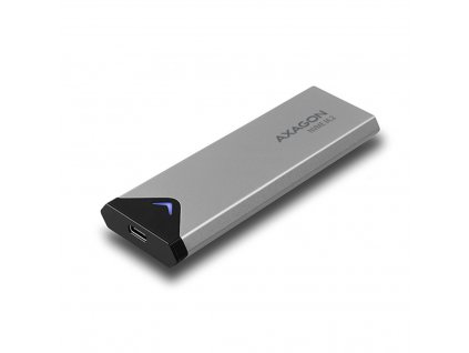 Externí box AXAGON EEM2-UG2 USB-C 3.2 Gen 2 - M.2 NVMe SSD kovový - délka 42 až 80 mm