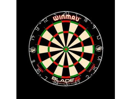 Sisalový terč Winmau BLADE 5 DUAL CORE, turnajová kvalita