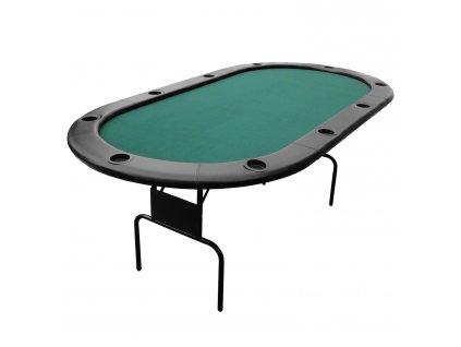 Pokrový stôl, 10 hráčov, skladací