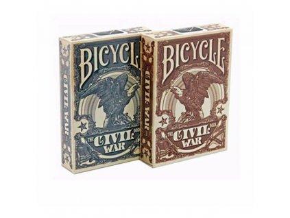 Bicycle karty Civil War