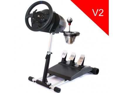 Stojan Wheel Stand Pro DELUXE V2, na volant a pedály pro Thrustmaster T300RS, TX, TMX, T150 a T500