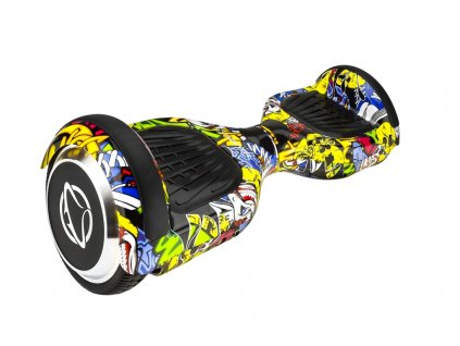 "Manta HoverBoard scooter 6,5"" 2x350W SNAKE graffiti MSB9001  + taška zdarma"