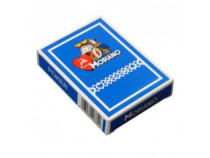 Modiano POKER CLUB standard modré (do vypredania zásob)