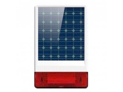Siréna iGET SECURITY P12 bezdrátová venkovní solární pro alarm M2B