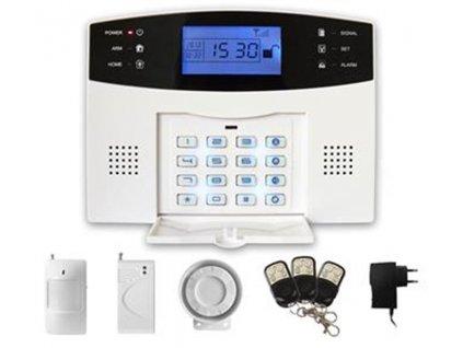 Alarm iGET SECURITY M2B bezdrátový GSM, při poplachu zasílá SMS/telefonuje, záložní baterie