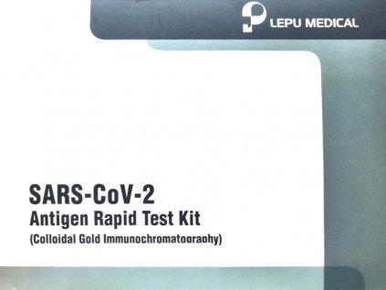 Souprava pro testování antigenu Covid 2019-nCoV 25ks v balení