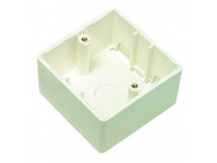 Krabice Premium Line Prem.Line Back Box pro zásuvku 502003 - béžová